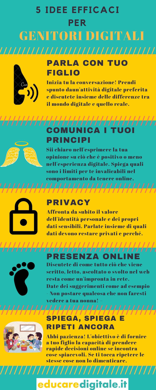 5 idee efficaci per genitori digitali