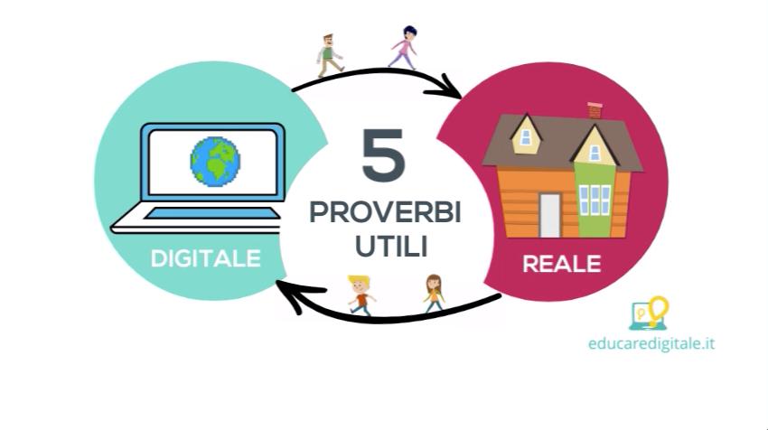 Proverbi utili per l'educazione digitale