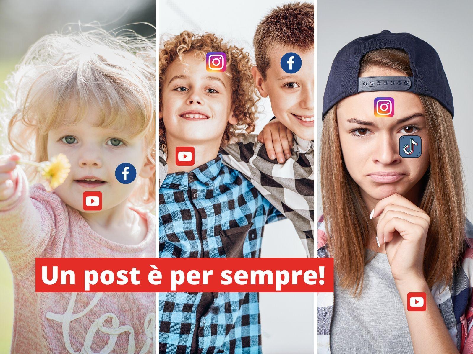 pubblicare le foto dei tuoi figli online sharenting